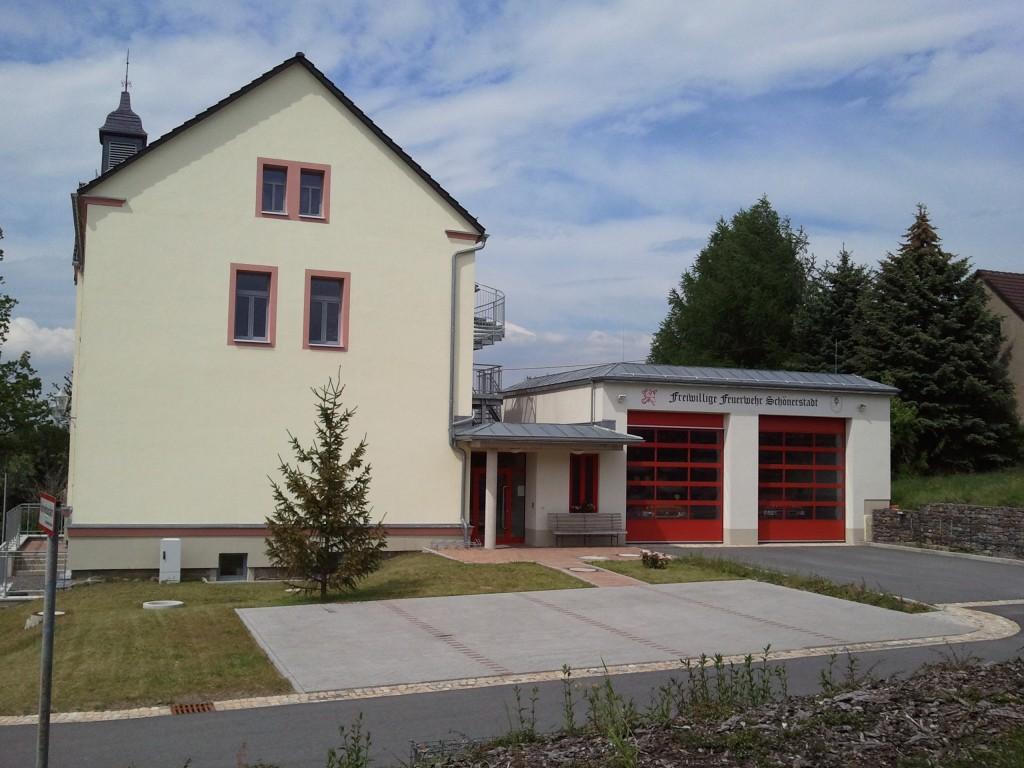 Gerätehaus der FFw Schönerstadt | Frühling 2012