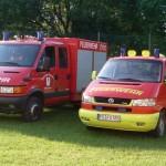 Fahrzeuge der FFw Schönerstadt | Sommer 2011